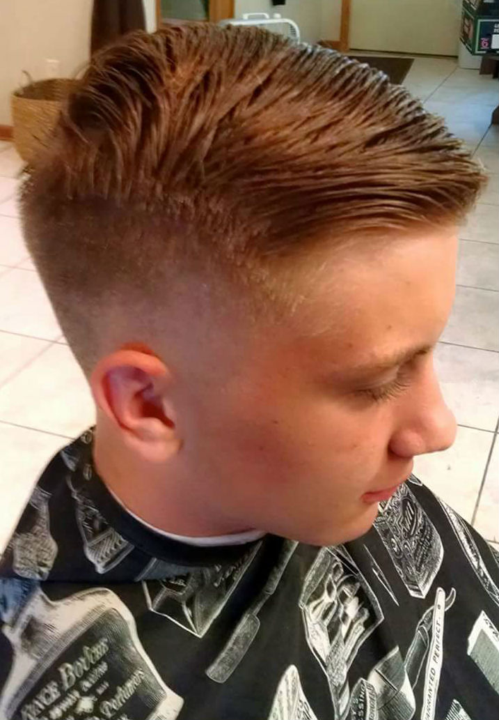 haircut by hairstylist Alana Murdock